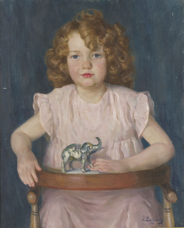 Girl with a Toy