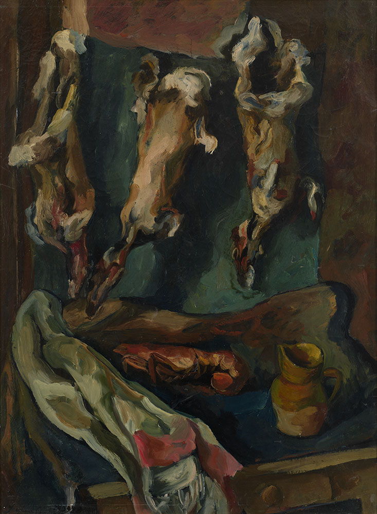 Still Life with Lobster and Rabbits