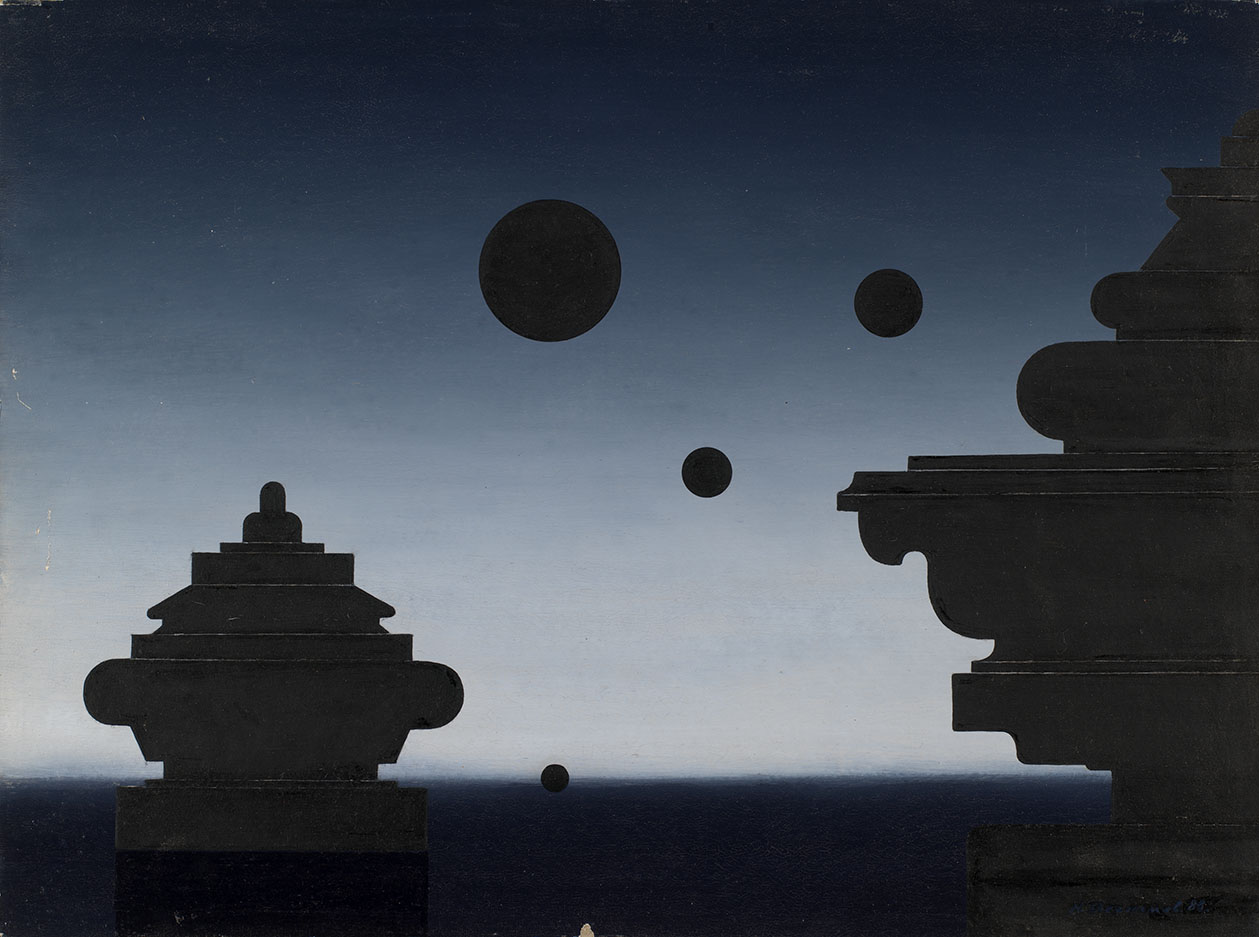 Composition with Black Moons