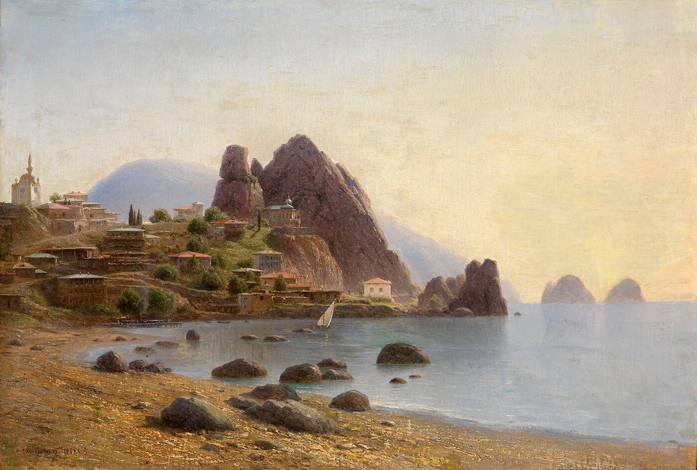 View of Gurzuf, Crimea