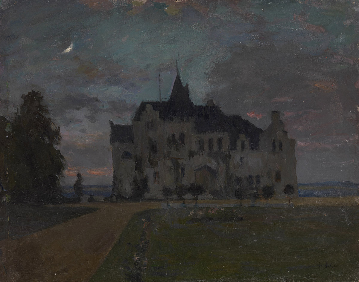 Castle, Version of</i> Castle. Twilight. 1898