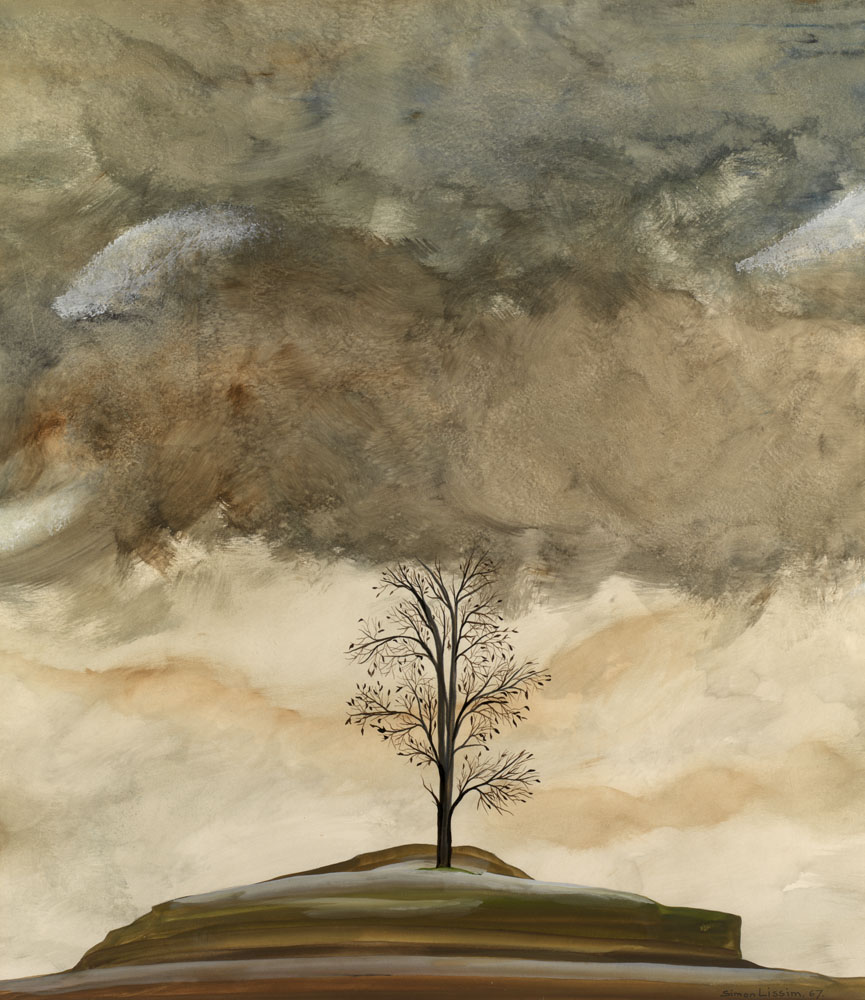 Tree and Clouds, Fish, Fields </i>and a<i> Landscape