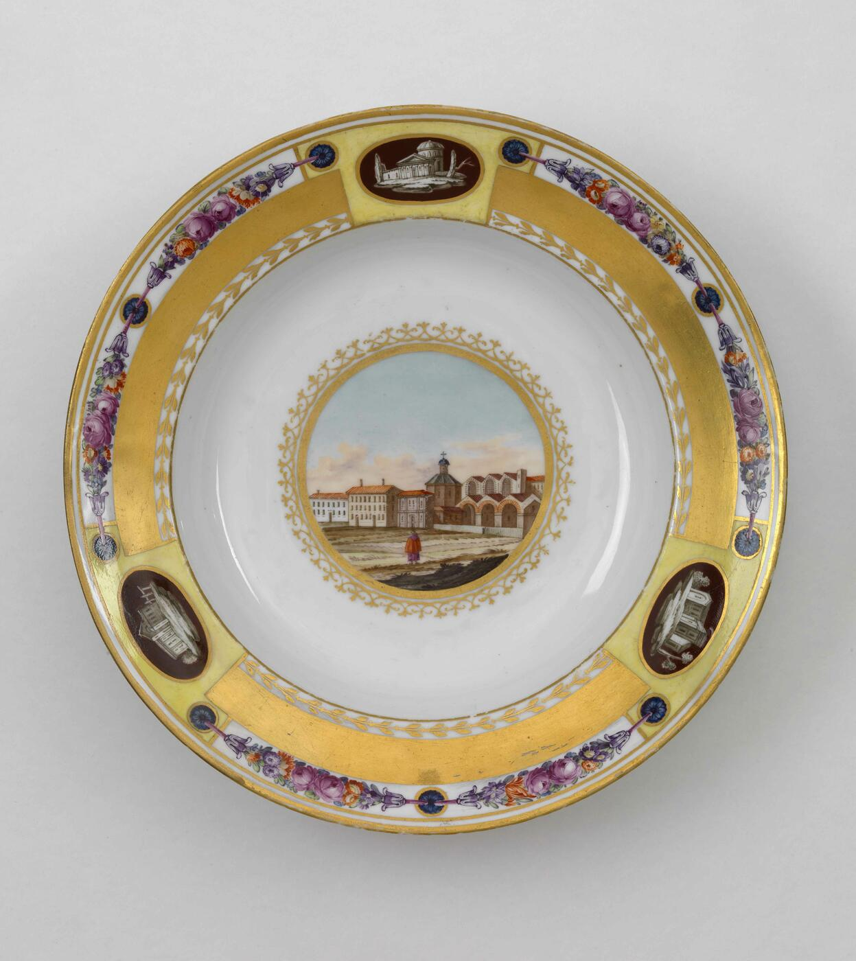 IMPERIAL PORCELAIN MANUFACTORY, ST PETERSBURG, PERIOD OF ALEXANDER I (1801-1825)