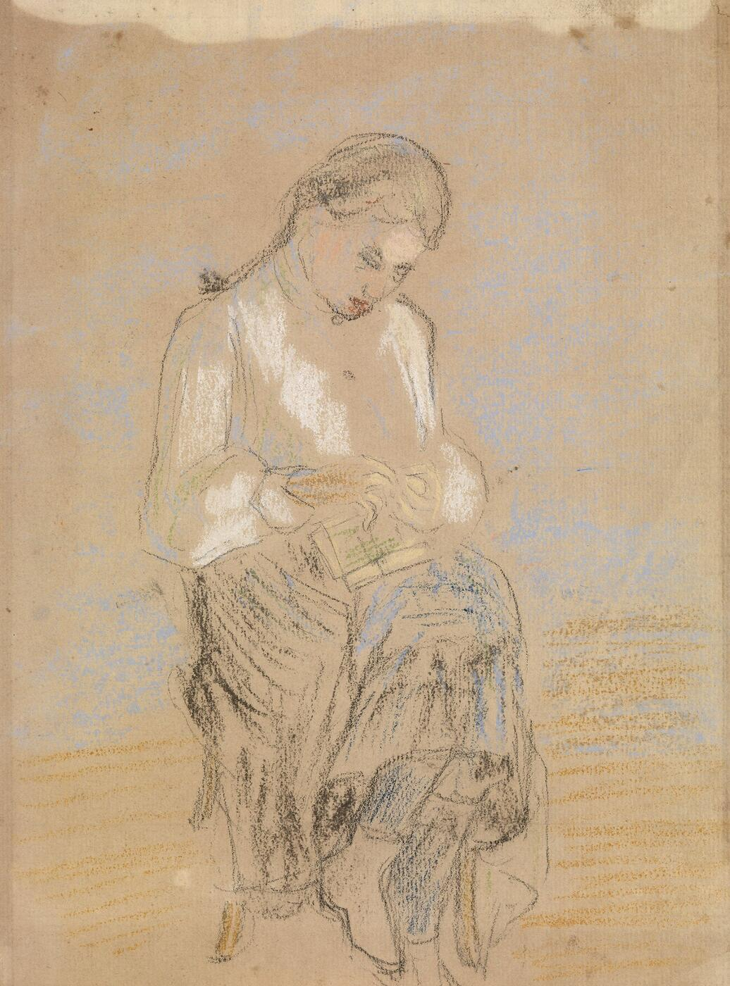 Portrait of a Seated Girl,