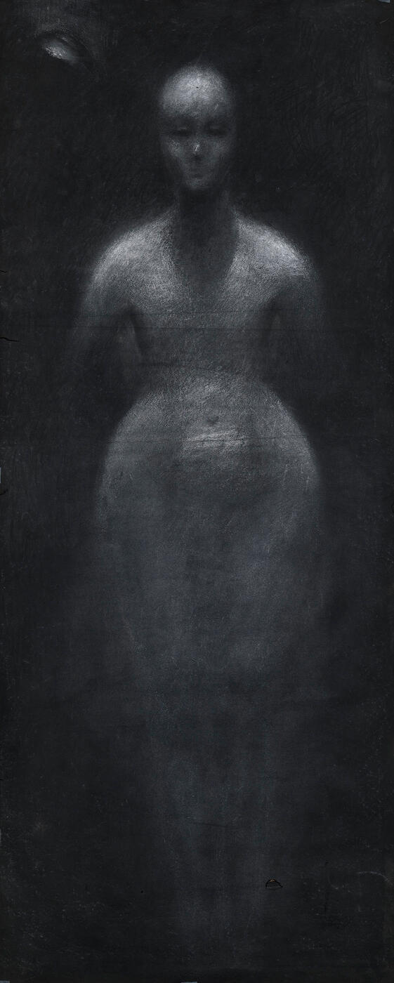 Study of a Nude from the Front.