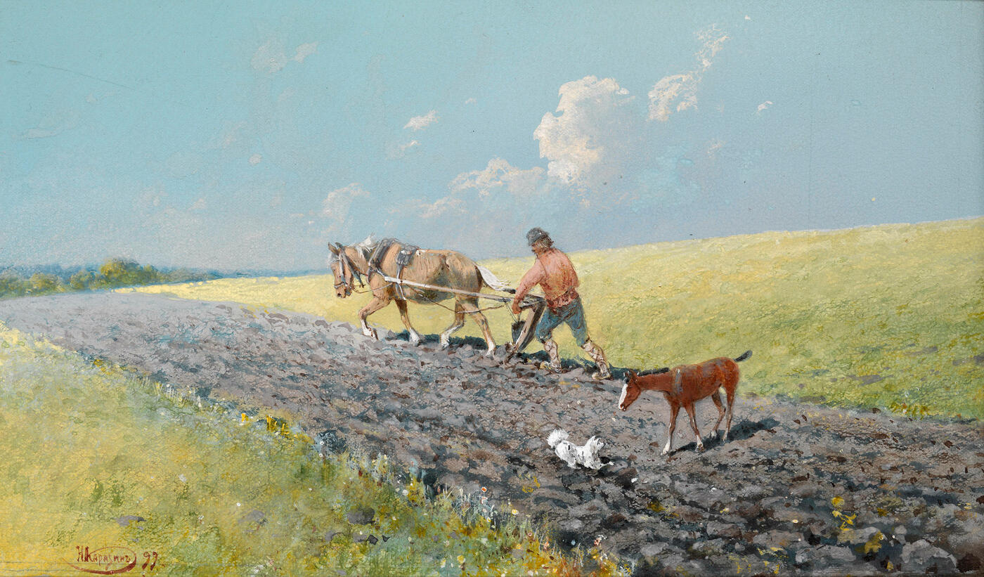 Ploughing the Field,