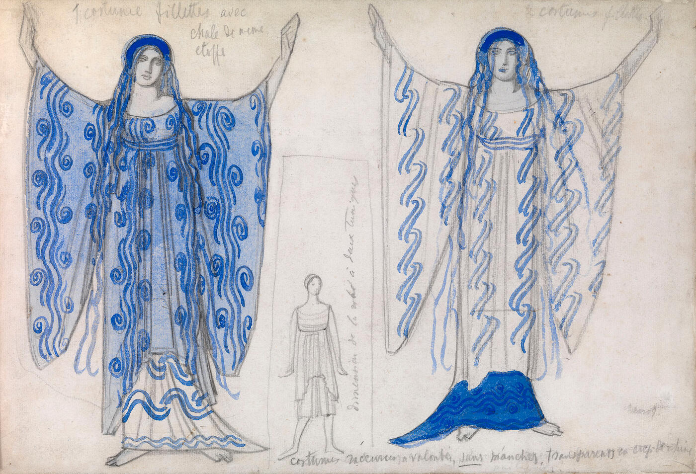 "Costume Design for ""Phaedra"","
