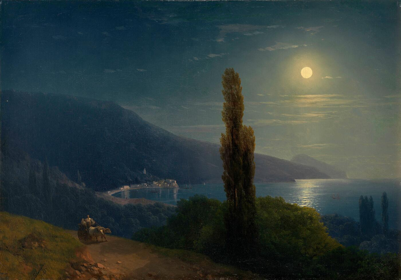 Moonlit Night, Crimea