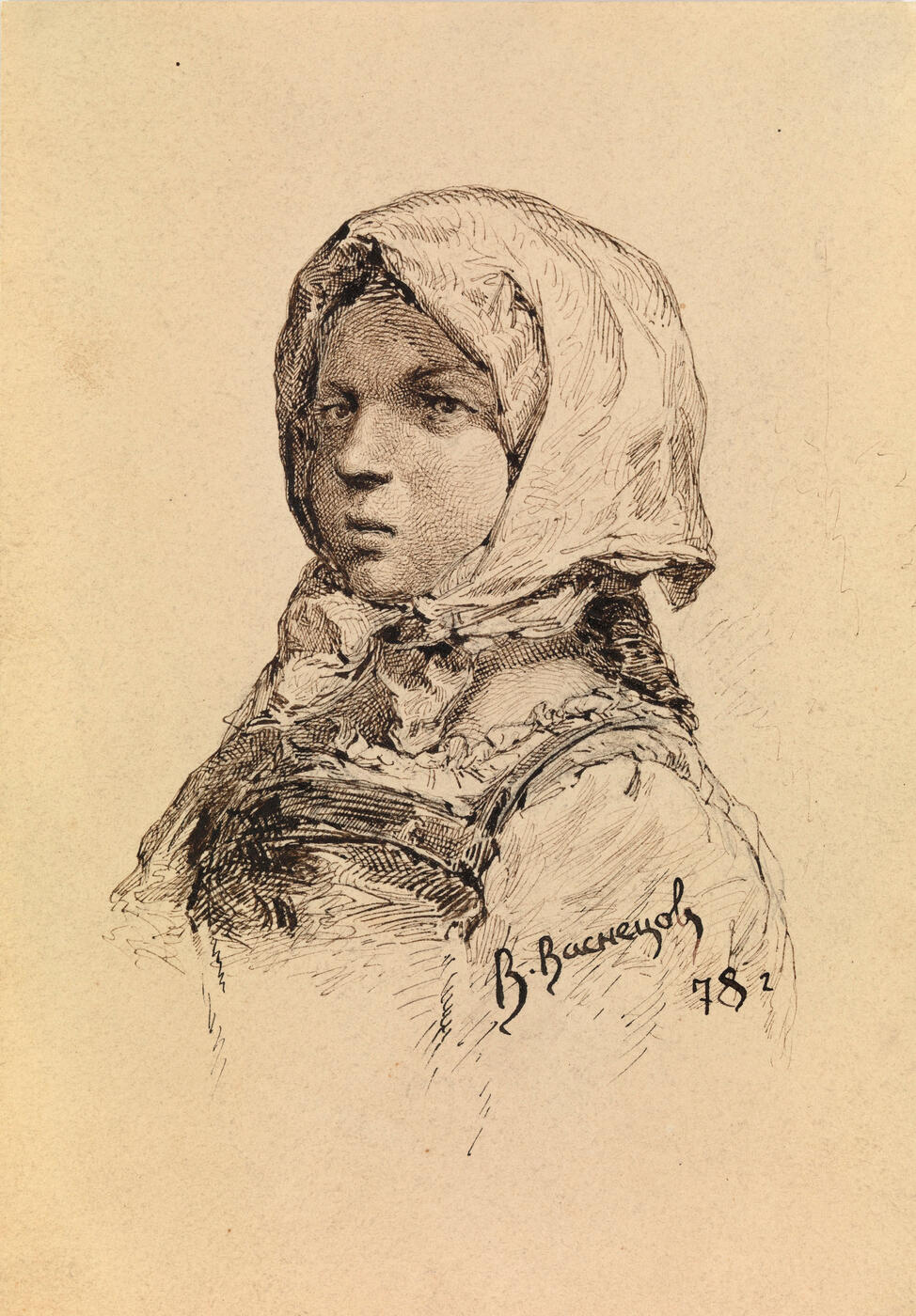 Girl in a Headscarf