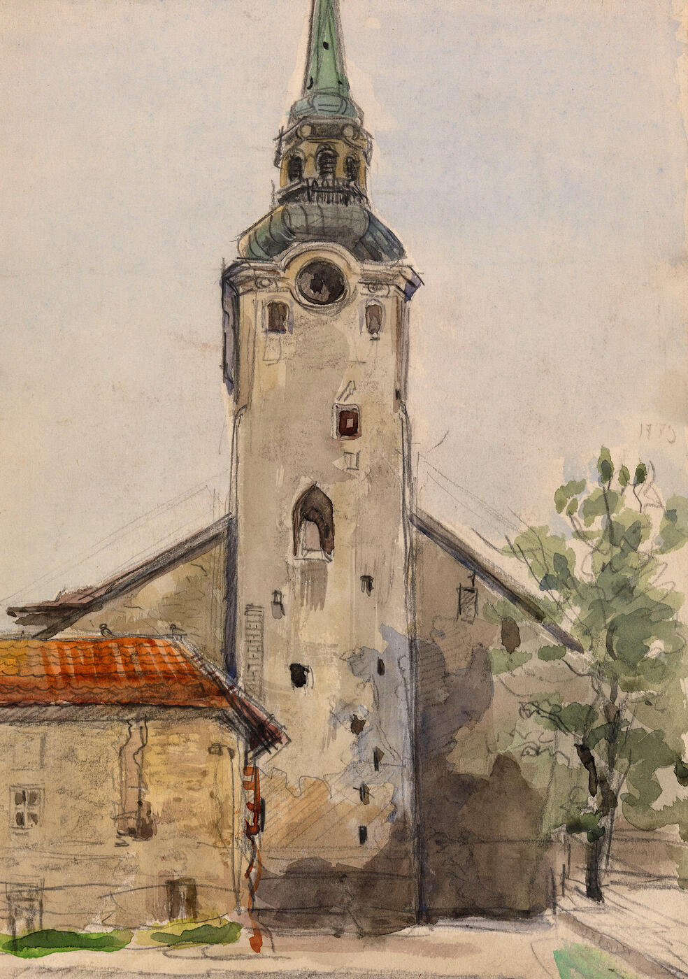 The Cathedral of Saint Mary the Virgin in Tallinn </i>and<i> Ruins, </i>two works<i>,
