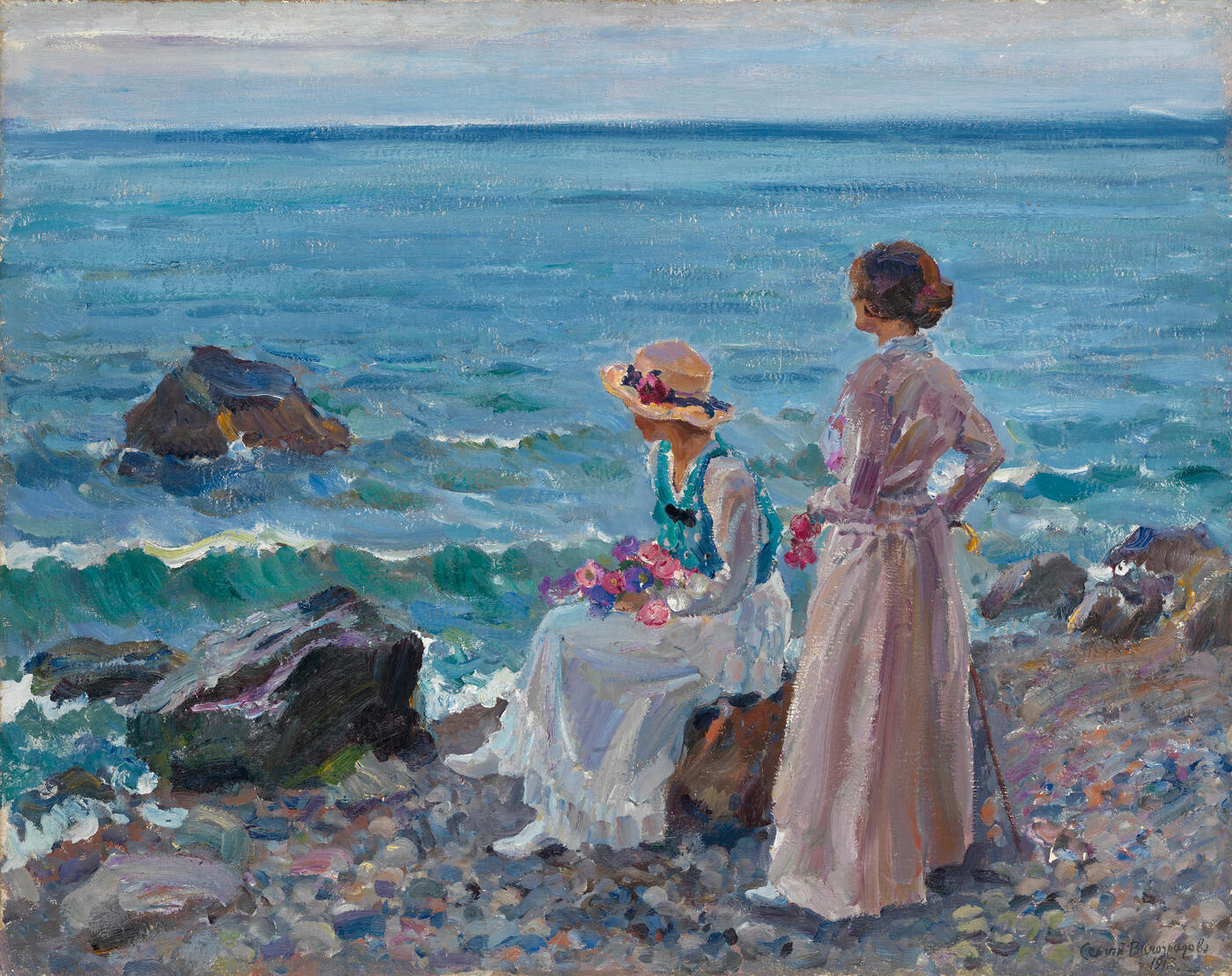 Women by the Sea