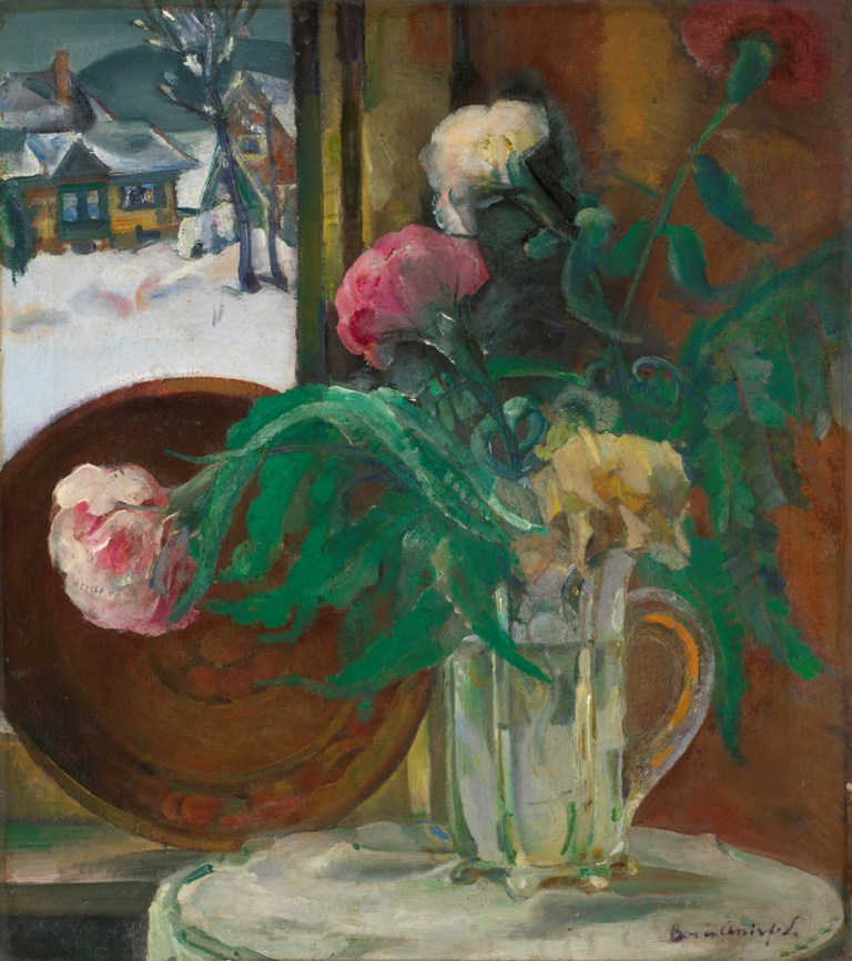Still Life with Flowers in Winter