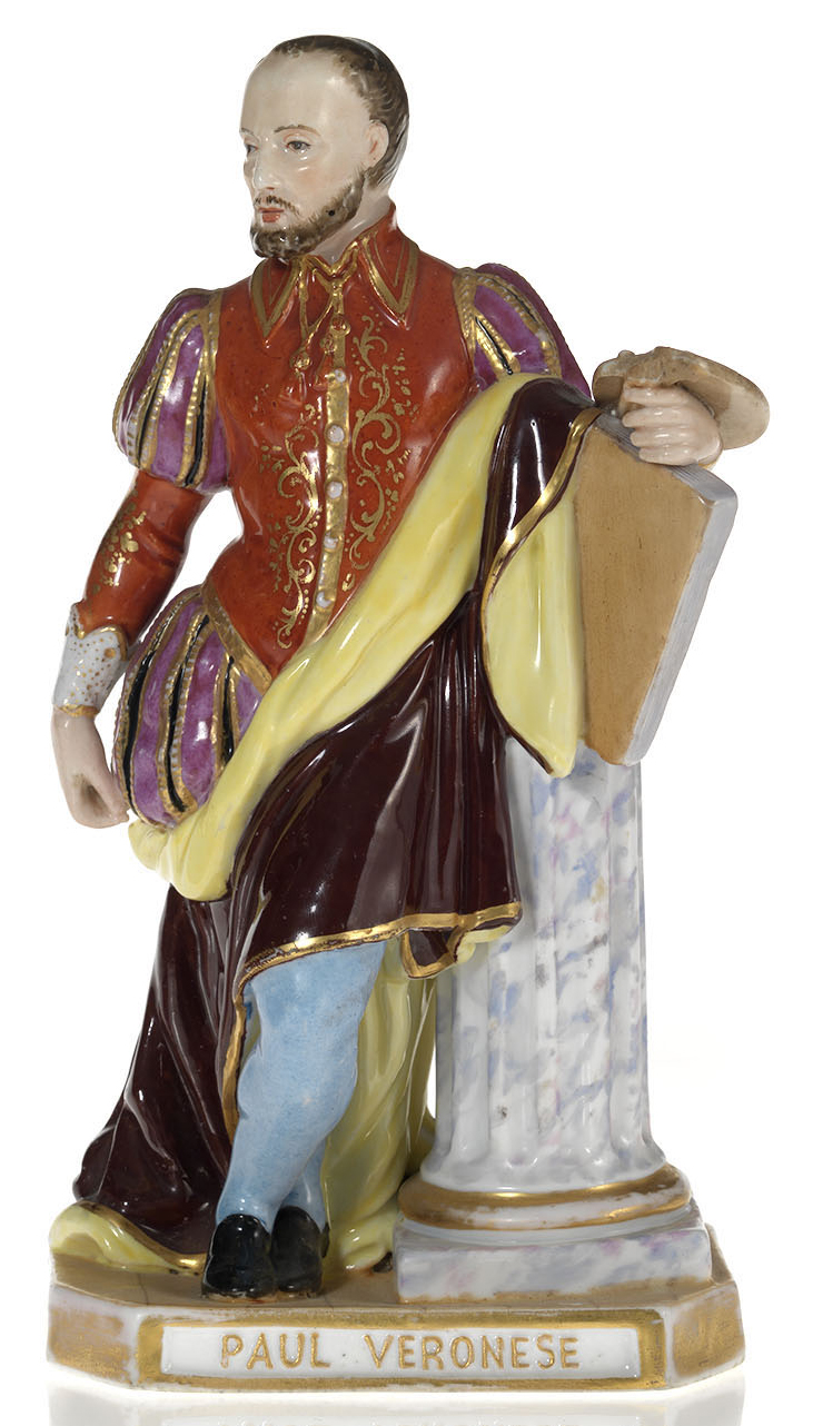 A Porcelain Figurine of Paulo Veronese
