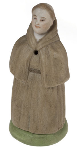 An Amusing Candle Snuffer and a Match Holder in the Form of a Friar