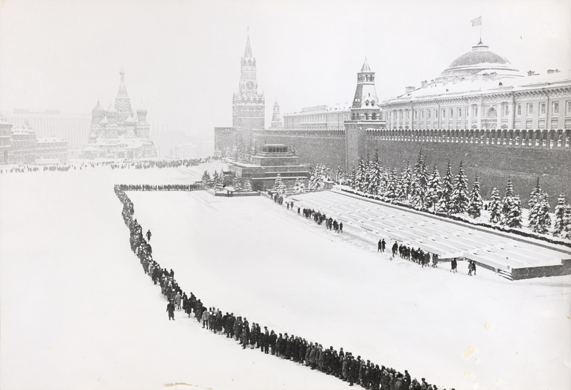 Queue at Lenin's Tomb