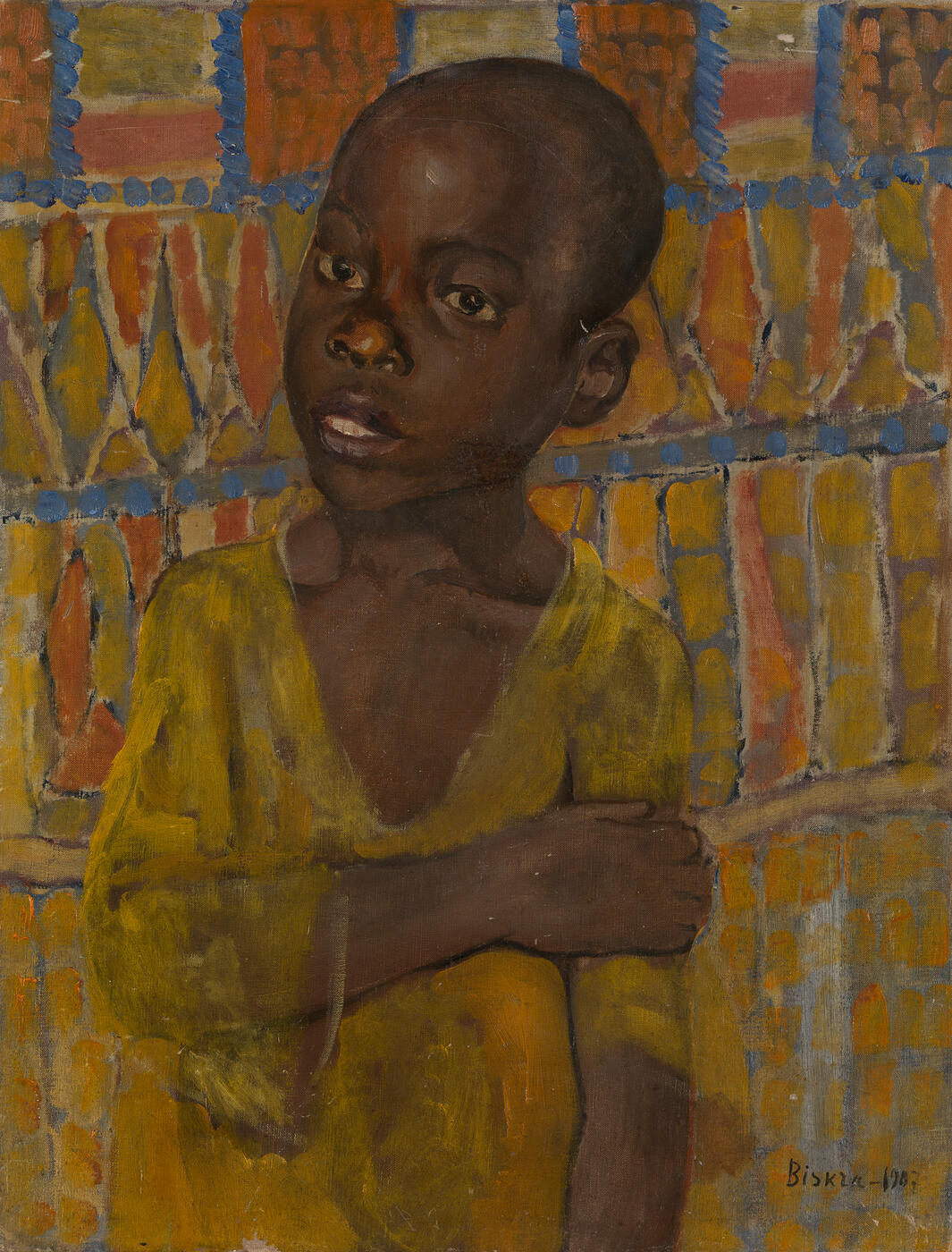 Portrait of an African Boy