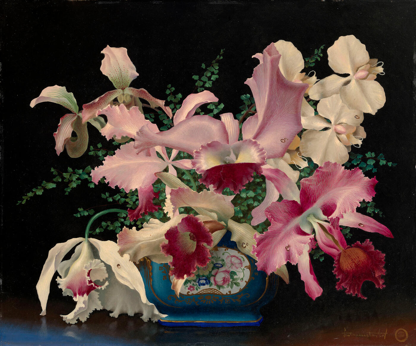 Still Life with Orchids