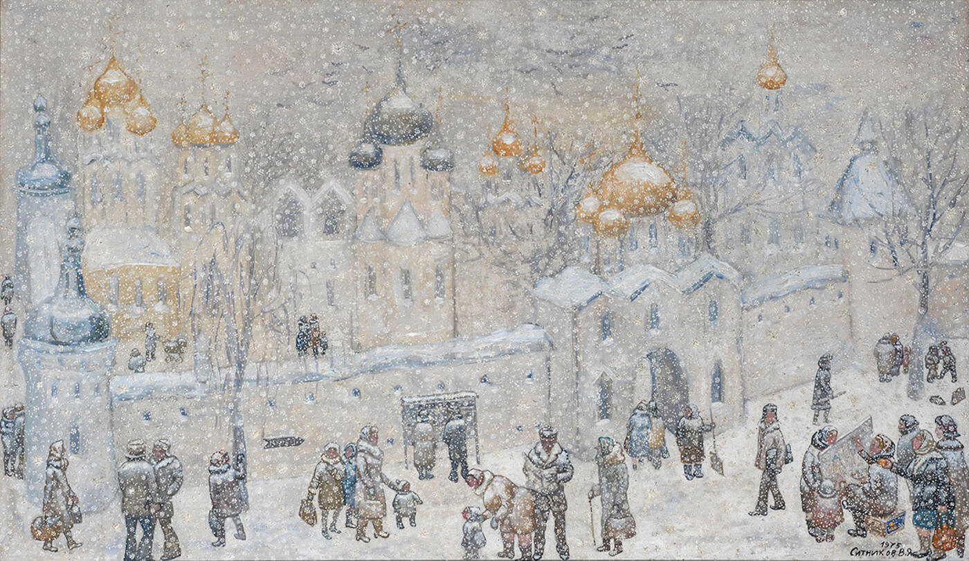 Monastery in Winter