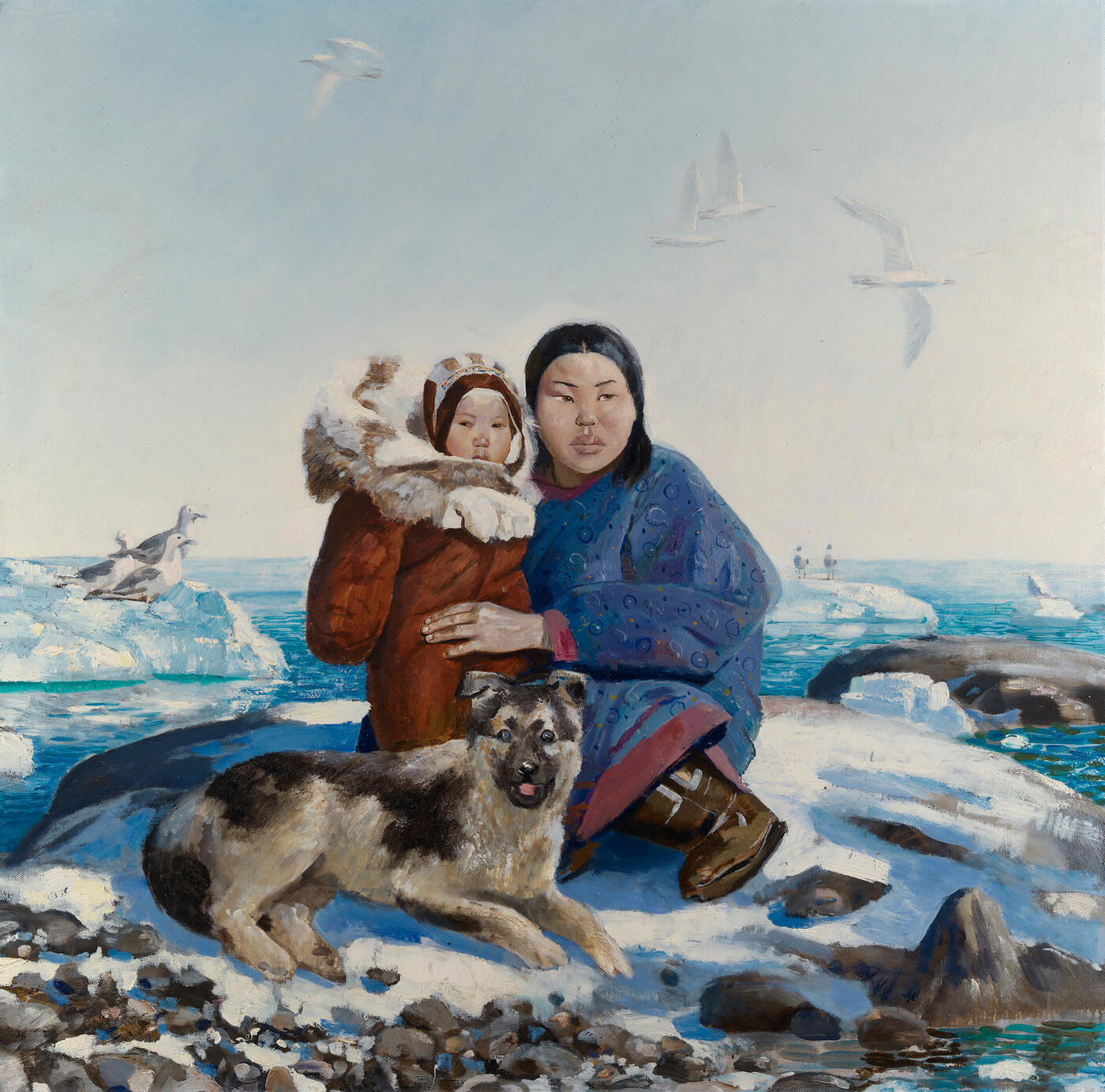 "The Land's End, from the series ""Chukotka"""