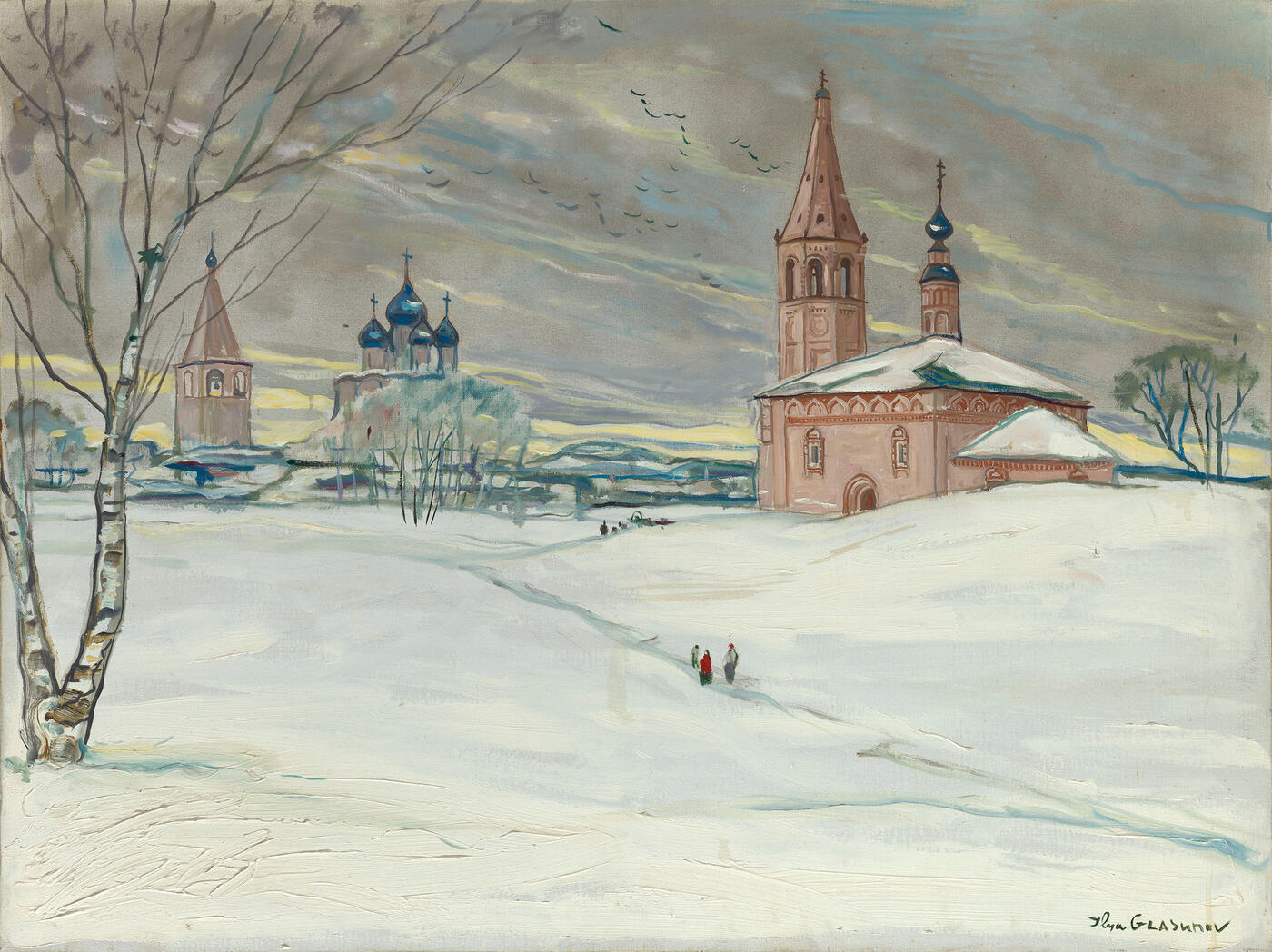 Churches in the City of Kostroma