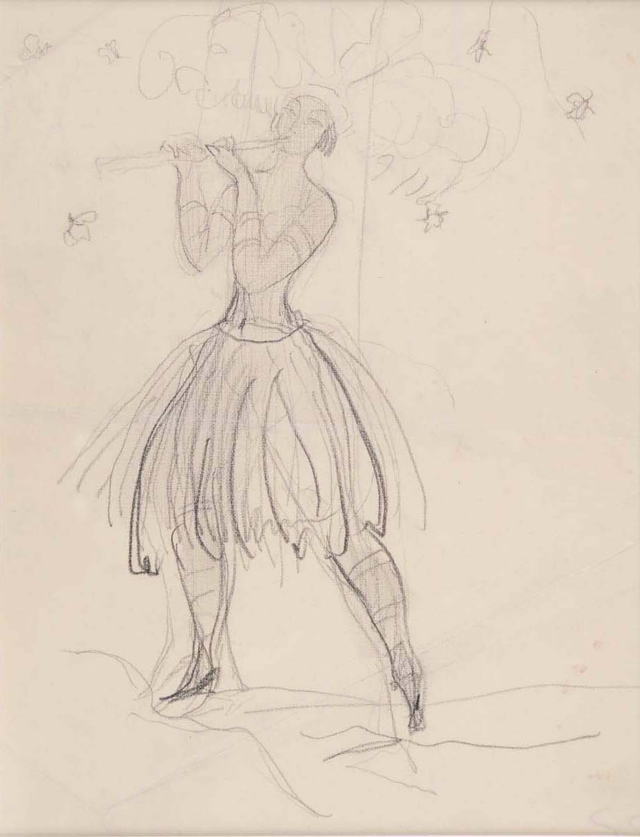 A Dancer from the Magic Flute and A Study