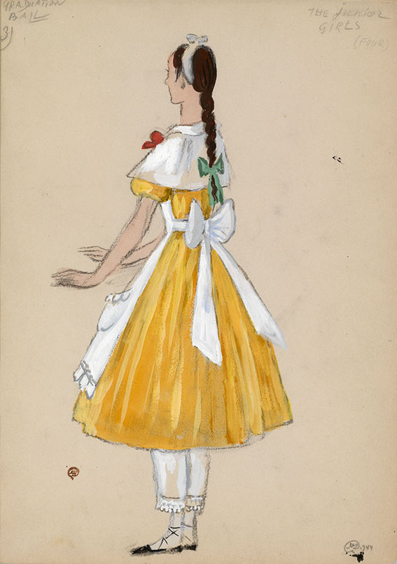 Costume Designs for the Ballet </i>Graduation Ball