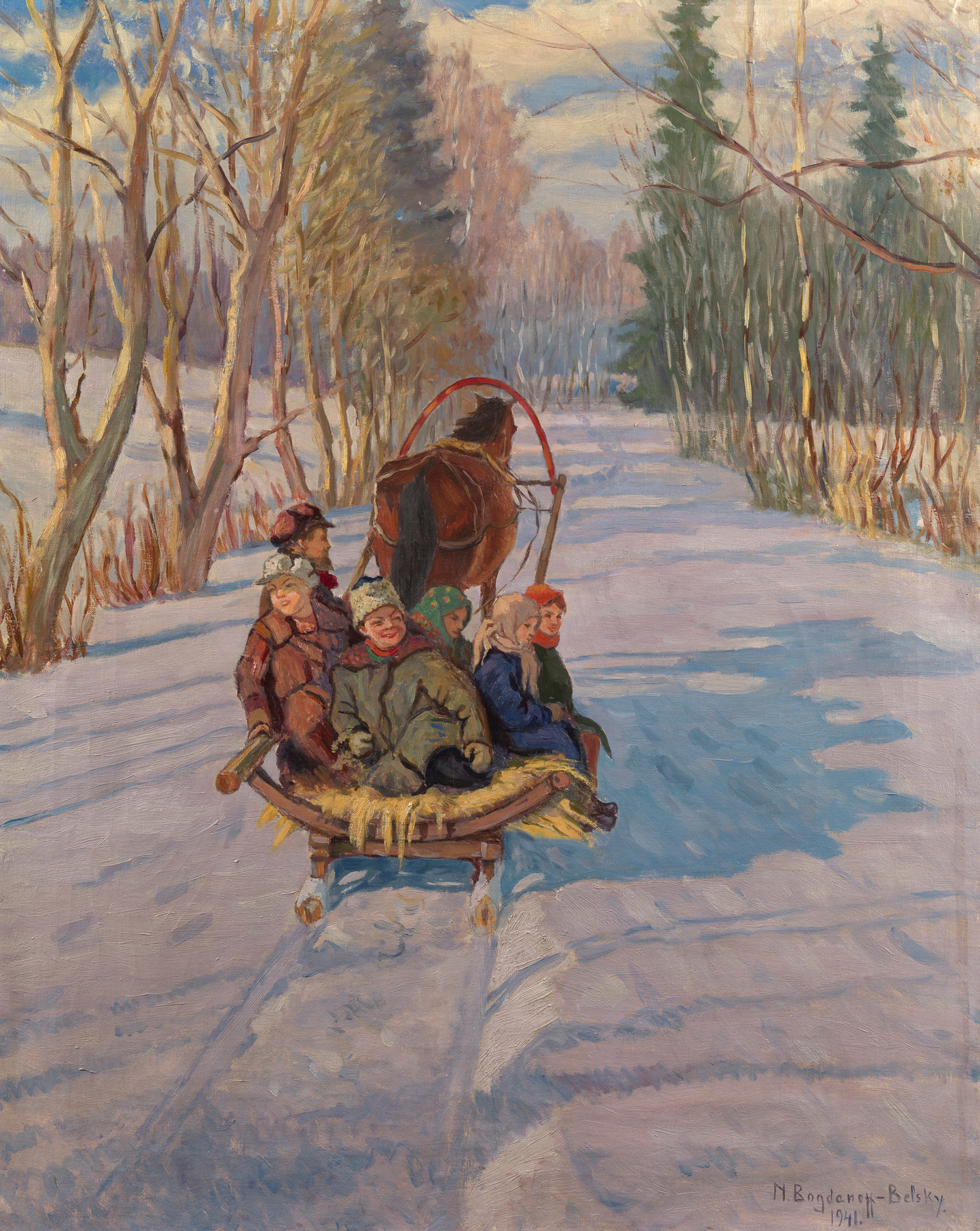 Children on a Sledge
