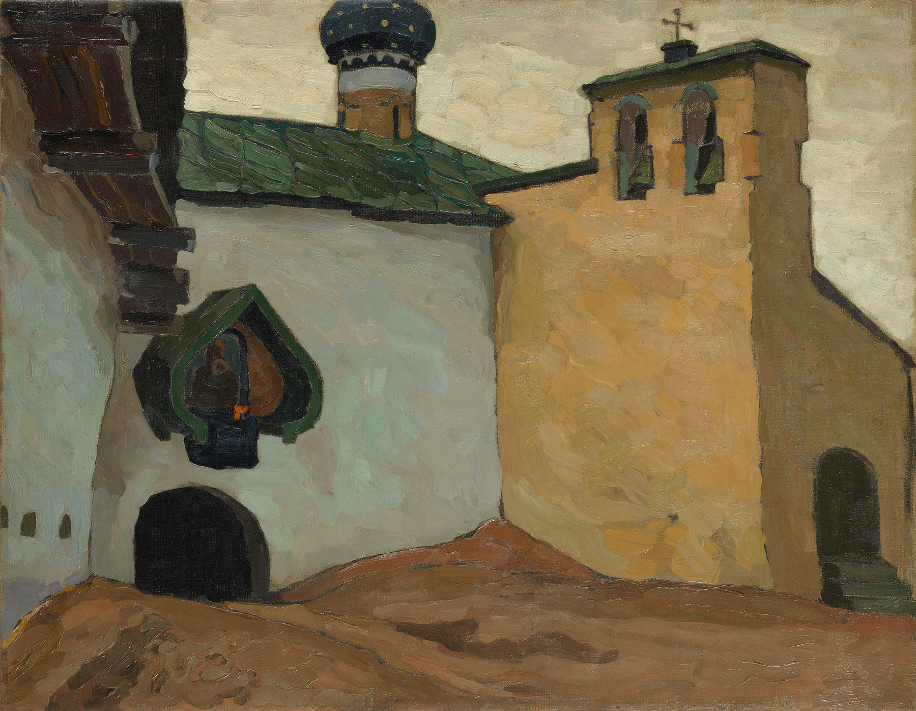 <a href='/en/catalogue/view?id=12611'>Lot 36.</a> ROERICH, NICHOLAS, <i>Pechory Monastery. Internal Exit from the Old Belfry</i><br> 400,000–600,000 GBP.