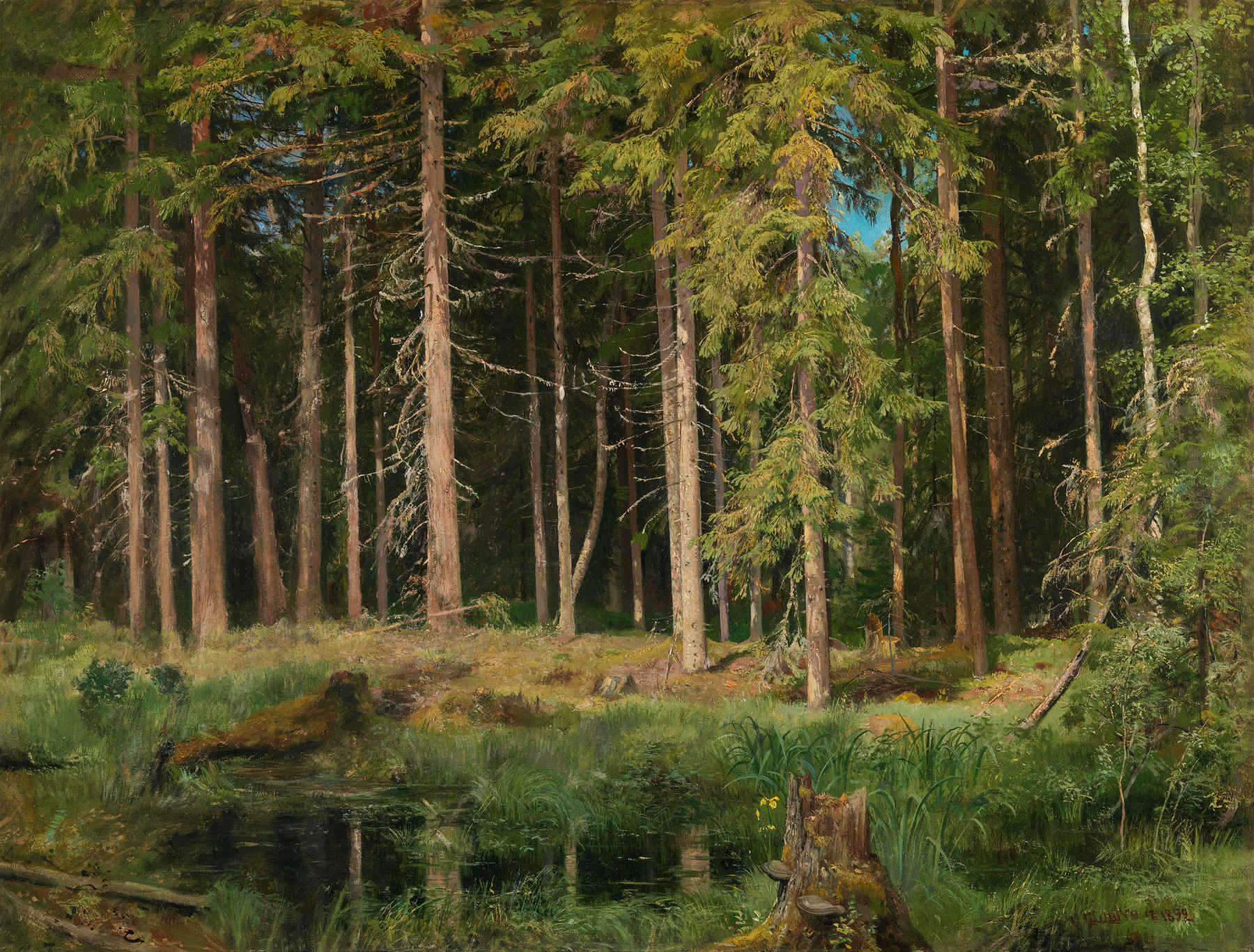 <a href='/en/catalogue/view?id=12583'>Lot 8.</a> SHISHKIN, IVAN, <i>Pine Forest</i><br> 400,000–600,000 GBP.